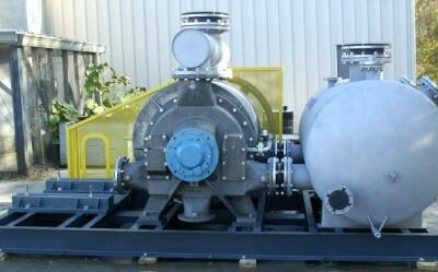 Vooner Supplies a 316 SS Flue Gas Compressor Assembly — Under Budget